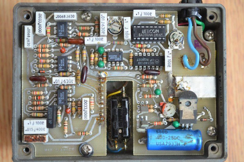MXR Flanger (AC Powered) 1980s - Reverb - 08.jpg